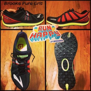 Pure Grit running shoe