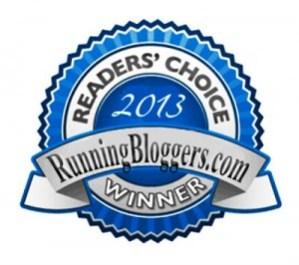 Reader's Choice Running Bloggers Winner