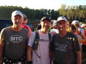 MTC friends at Hinson Lake 24 Hour run