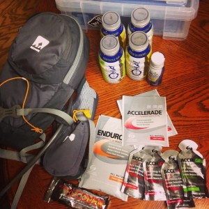 running fuel for an ultra athlete