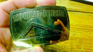 My finisher buckle!