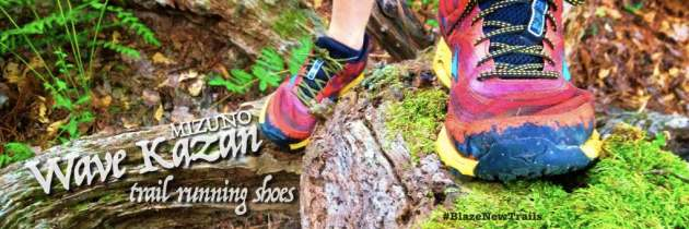 I run faster with the Mizuno Wave Kazan – Trail Shoe Review