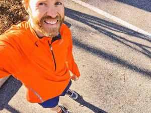 16 mile training run I ran a few weeks ago.