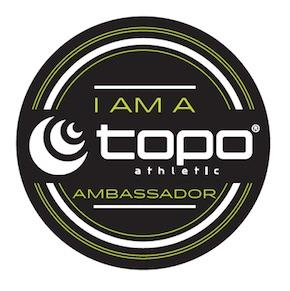 Topo Athletic Ambassador.