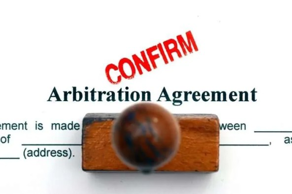 arbitration agreement confirmed