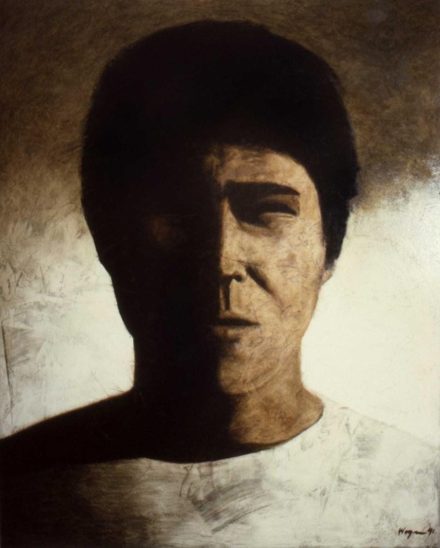 Portrait CC, oil on canvas, 60 X 48, 1991, private collection