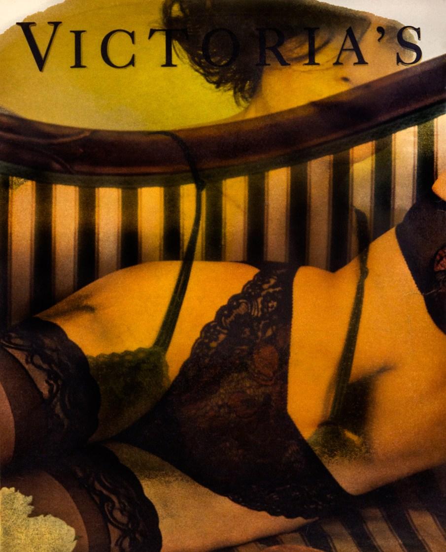 Victorias Secret #7, altered advertising, 11 x 9