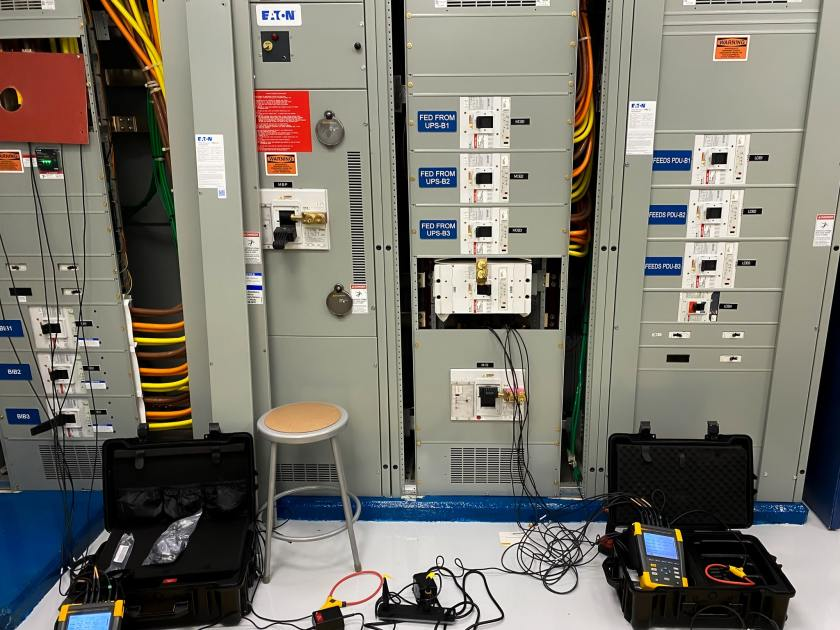 Power quality metering commissioning