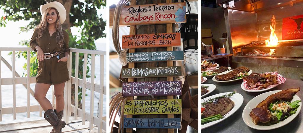 Restaurantes en Rincón, Cowboys, Vaquero