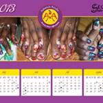 Calendar 2013 Ashena's Acrylic