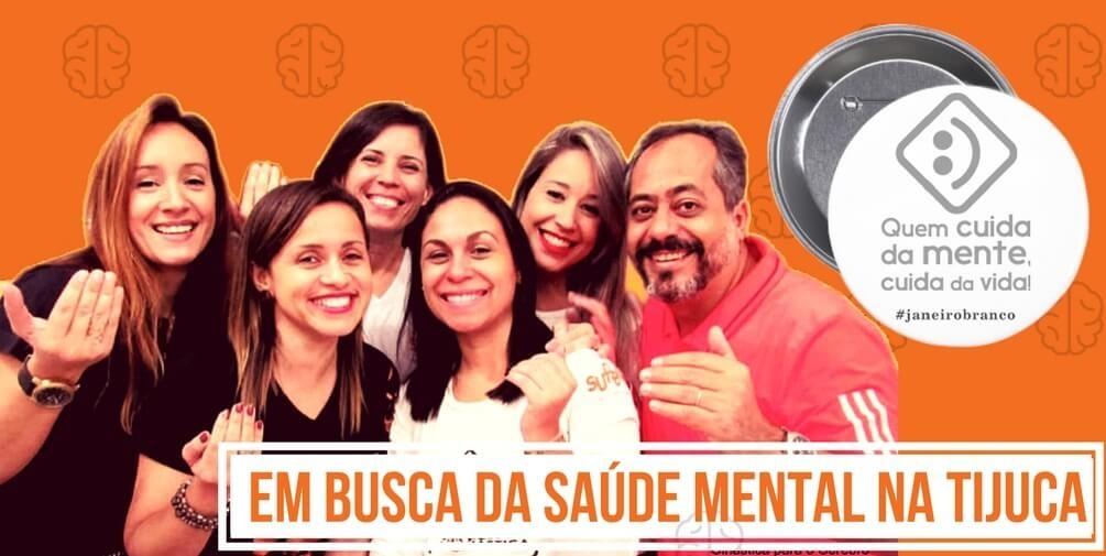 SUPERA apoia Campanha Janeiro Branco na Tijuca.