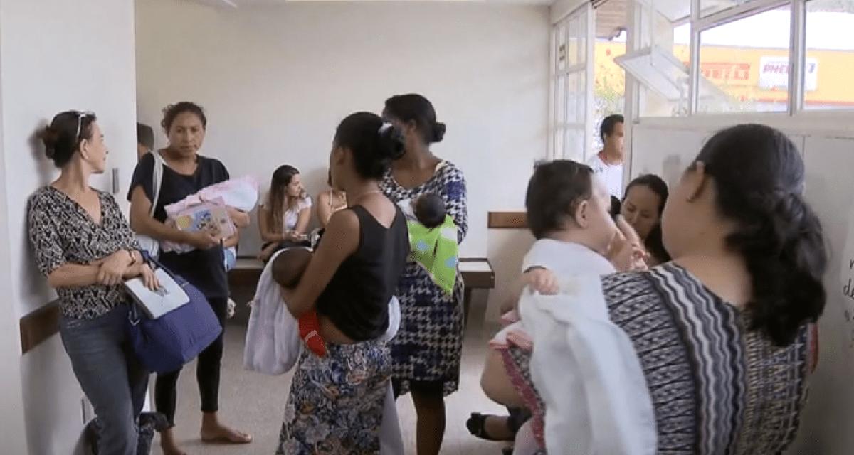 Começa no RJ a campanha nacional de vacinação contra o sarampo e a poliomielite