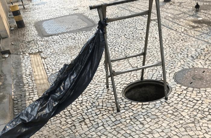 Moradores de Vila Isabel denunciam furtos de tampas de bueiros