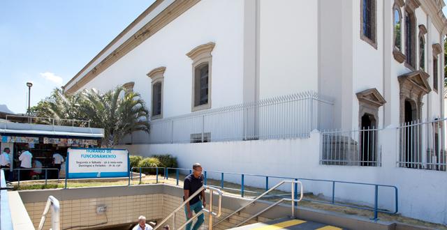 Metrô na Tijuca: Estação São Francisco Xavier