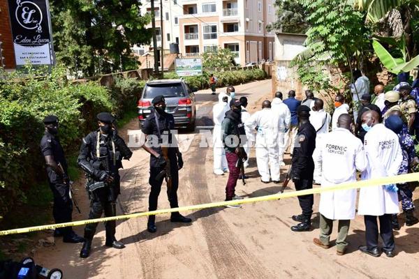 Gen Wamala shooting uganda