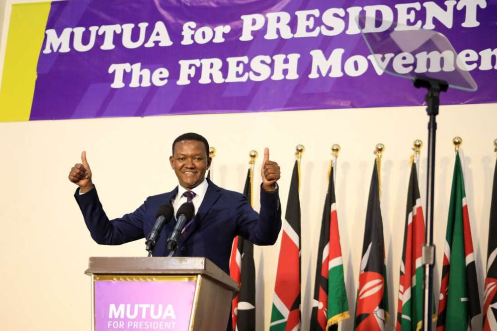 Alfred Mutua makes big promises as he officially launches presidency bid |  Nation