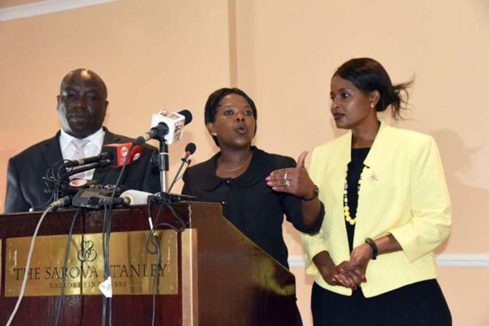 Connie Maina, Margaret Mwachanya and Paul Kurgat resign from IEBC | Nation