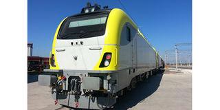 Hyundai Rotem train tanzania electric