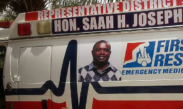 JOSEPH SAAH: Selfless Liberian politician who became an ambulance driver  for Ebola patients - National Accord Newspaper