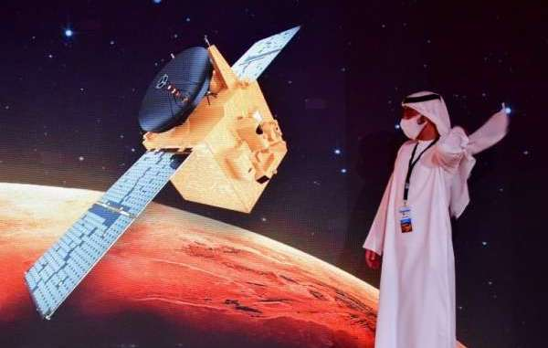 Image result for UAE becomes the first Arab country to reach Mars