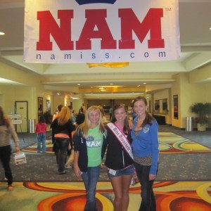 Abby Jr. Teen MN posing in NAM Apprarel with her sister and close friend Anna