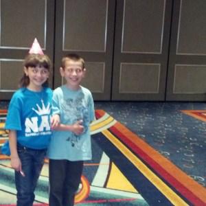 Happy Birthday Nam rehearsa-Madison Scheideler & brother Dylan