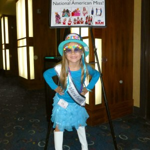 All American Princess Alyssa deBoisblanc at Birthday Themed Rehearsal. Happy 10th NAM Nationals!!