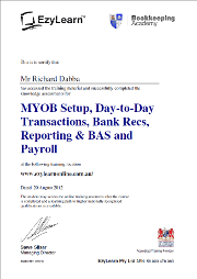 MYOB-Bookkeeping-Training-Course-Certificate_-_small