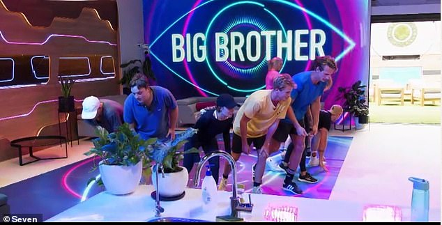 Right on time: How convenient. Right in time for the eviction challenge. It was musical chairs, I don't care, and The Chad won