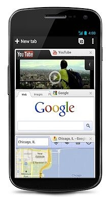 Chrome comes to Android 2012