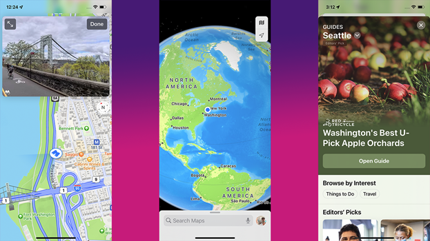 Maps in iOS 15