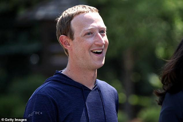 The apology from Mark Zuckerberg, seen on July 8 at the Sun Valley conference, was mocked by many social media users