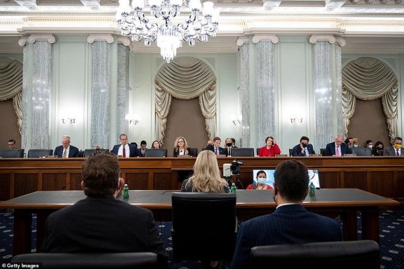 Speaking to Senators on Tuesday, Haugan celebrated a massive outage that hit Facebook and its related sites the day before