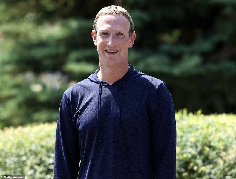 Facebook CEO Mark Zuckerberg is seen above in July.Facebook has said there was 'no malicious activity' behind a seven-hour blackout that cost the company an estimated $100million in lost revenue