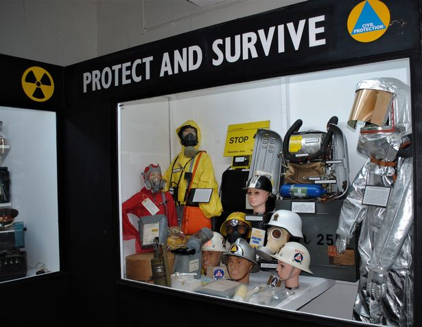 Fallout protection suits.