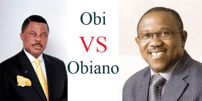 Image result for obiano and peter obi