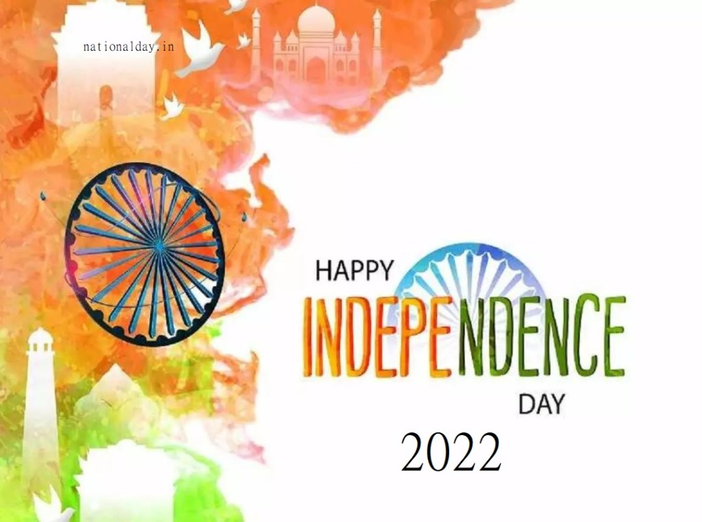 Happy Independence Day 2022 poster