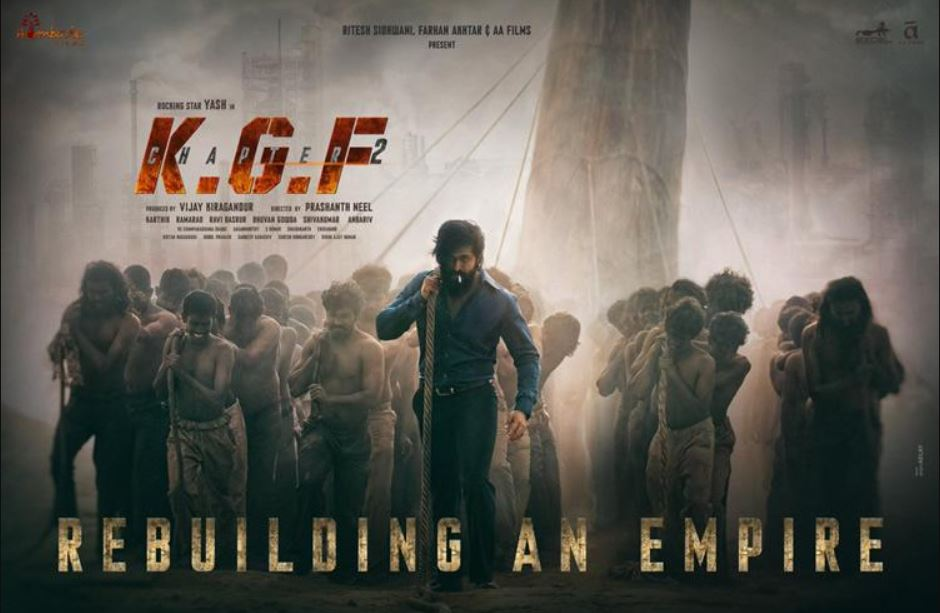 KGF Chapter 2 ( KGF 2 ) Poster, Release Date, Trailer, Cast, Budget