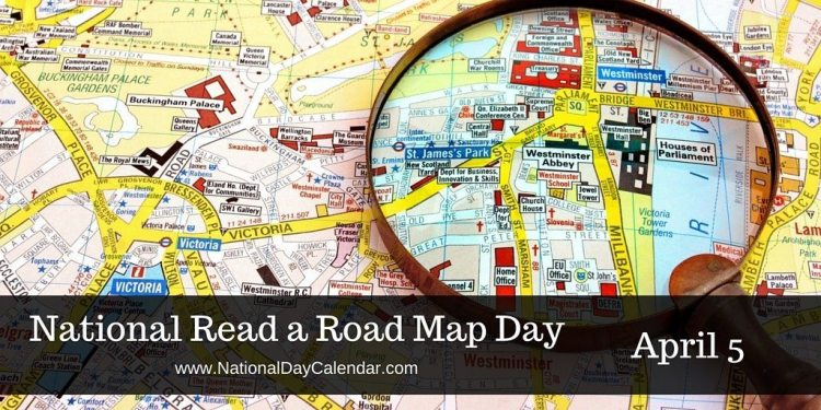 National Read a Road Map Day - April 5