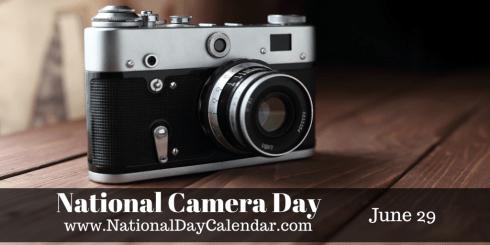 June 29, 2015 – NATIONAL CAMERA DAY – NATIONAL ALMOND BUTTERCRUNCH ...