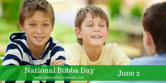 National Bubba Day June 2