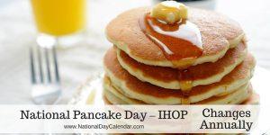 National Pancake Day – IHOP