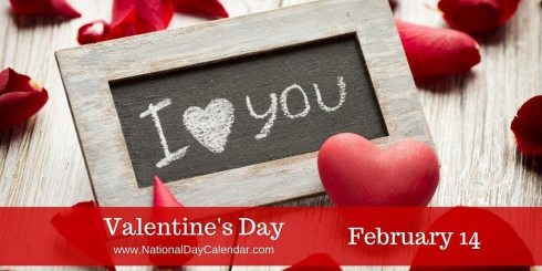 valentine's day – february 14 | national day calendar, Ideas