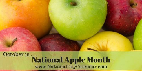 National Apple Month - October