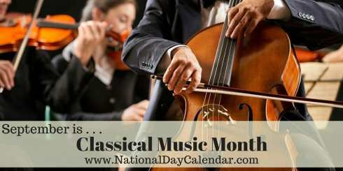 Classical Music Month - September