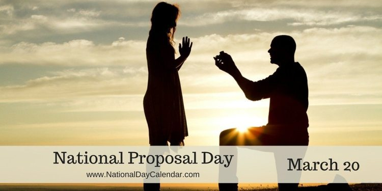 National Proposal Day - March 20
