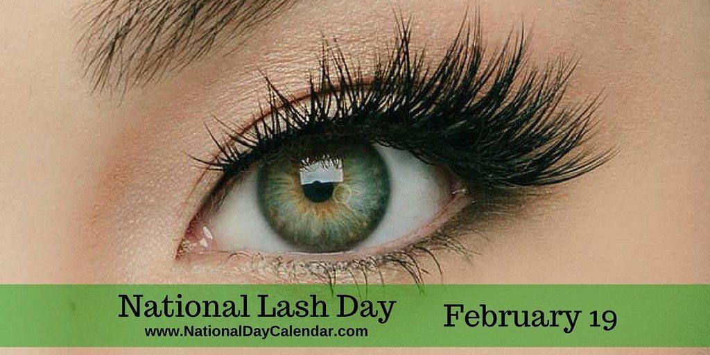 National Lash Day February 19
