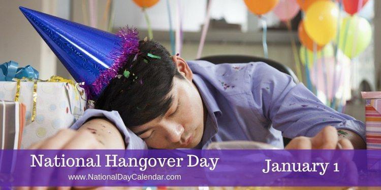 National Hangover Day - January 1
