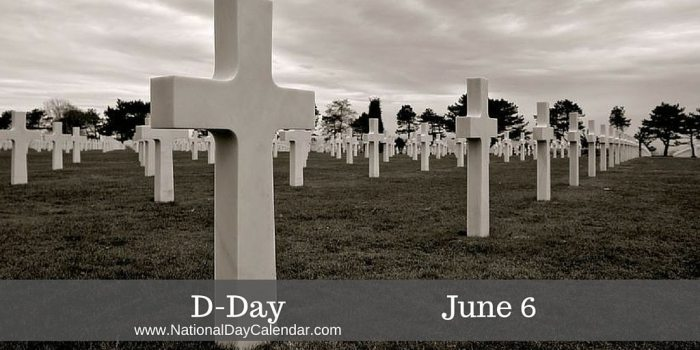 D-Day - June 6
