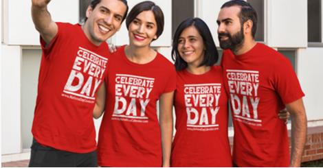Red_Celebrate_Every_Day_T-Shirts-1